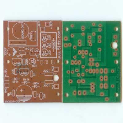 五一电子商品说明:《停电报警应急灯电路板 》